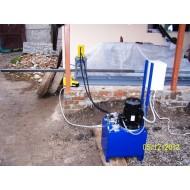 Гидравлический перфорационный станок для труб 40х40х2мм