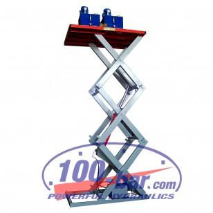 Подъемная платформа 1700х1150х1тх3м